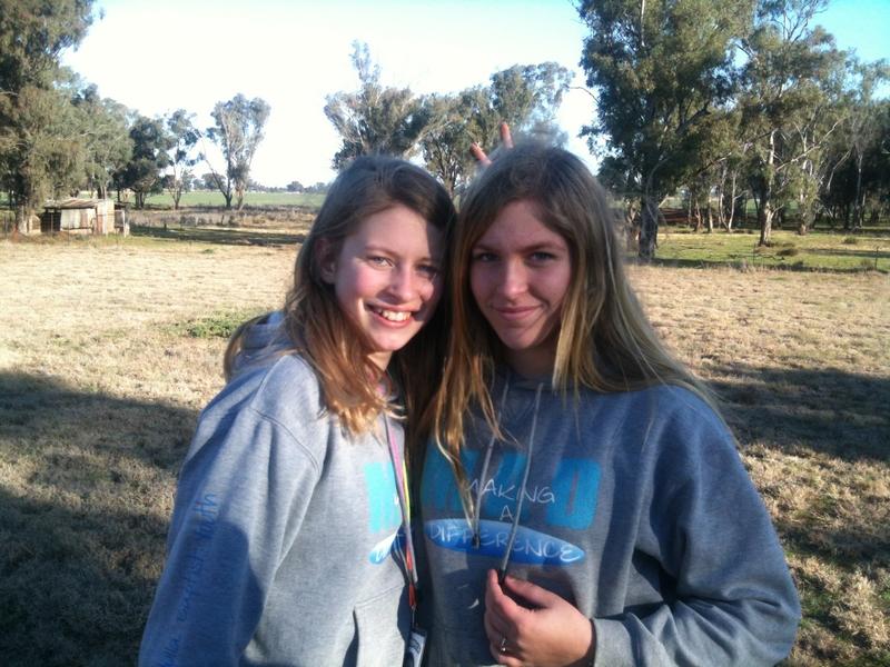 Maddi and Alanna